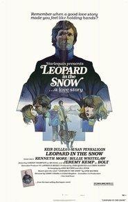 Il leopardo nella neve