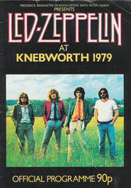 Led Zeppelin - Knebworth Festival - 4th August 1979