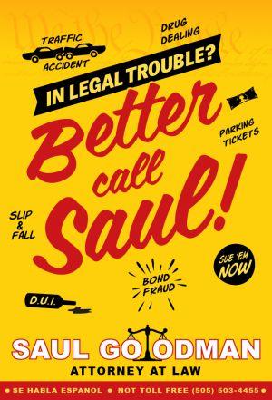 Locandina del film Better Call Saul
