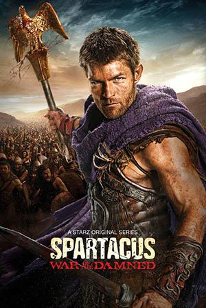 Locandina del film Spartacus