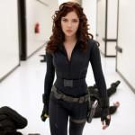 """Per la prima volta nei panni della Vedova Nera in """"Iron Man 2"""" (2010) di Jon Favreau"""