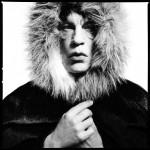 "David Bailey / Mick Jagger ""Fur Hood"" © Sandro Miller courtesy of Catherine Edelman Gallery Chicago"