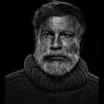 Yousuf Karsh / Ernest Hemingway © Sandro Miller courtesy of Catherine Edelman Gallery Chicago