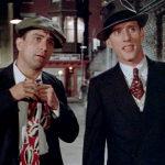 Robert De Niro e James Woods, rispettivamente Noodles e Max in C'era una volta in America (1984)