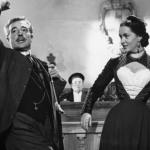 """""""Altri tempi"""" (1951): Vittorio De Sica declama la celebre battuta che conia il termine """"maggiorata fisica""""."""