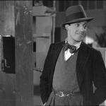 Un giovane Vittorio De Sica nel film Gli uomini, che mascalzoni... (1932).
