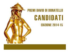Tutti i candidati ai David 2015