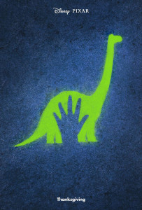 Il teaser poster di The Good Dinosaur