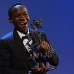 Il quattordicenne Abraham Attah, Premio Marcello Mastroianni come Miglior Attore Esordiente per Beasts of No Nation