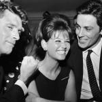 """Roma, 1962, premiere de """"Il Gattopardo"""": Burt Lancaster, Claudia Cardinale e Alain Delon"""