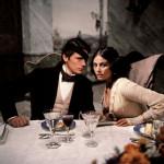 """Delon e la Cardinale ne """"Il Gattopardo"""", 1963"""