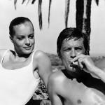 """""""La piscina"""", 1969, con Romy Schneider"""