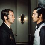 """Jean-Paul Belmondo e Delon in """"Borsalino"""", 1970"""