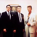 Con Miguel Ferrer, Kyle MacLachlan e David Lynch, in Fuoco cammina con me, 1992