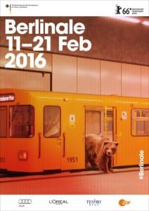 Uno dei 6 poster ufficiali della 66ma Berlinale