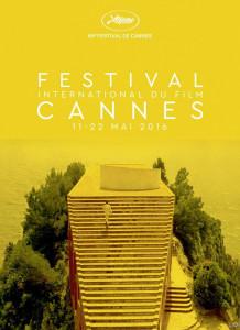 La locandina ufficiale di Cannes 2016