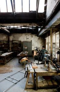 Laboratorio Bellamy: l'allestimento di un set