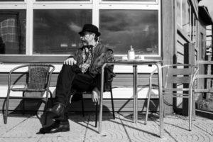 """Claudio Caligari sul set di """"Non essere cattivo"""" © Matteo Graia"""