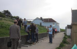 Al lavoro sul set