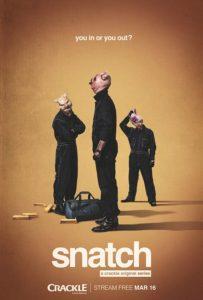"""Il poster della serie tv """"Snatch"""""""