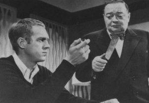 Steve McQueen e Peter Lorre in 'Man from the South'