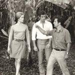 Sul set de 'La mia droga si chiama Julie' (1969) con Catherine Deneuve e Truffaut