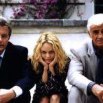 Delon-Vanessa Paradis-Belmondo in 'Uno dei due' (1998) di Patrice Leconte