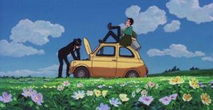 'Lupin e il castello di Cagliostro' (1979): la famosa 500 gialla usata da Lupin sia nell'anime che nel lungometraggio è stata voluta e inserita da Miyazaki