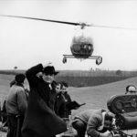 Fellini sul set di '8 1/2'