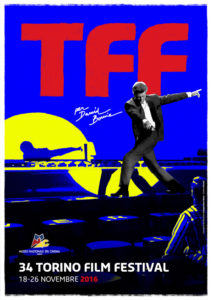 La locandina del TFF 2016 dedicata a David Bowie
