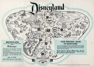 Mappa di Disneyland (1955)