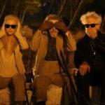 """Con Tilda Swinton e Jim Jarmusch sul set di """"Solo gli amanti sopravvivono"""" (2013)"""