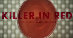 "Il cocktail riuscito tra Sorrentino e Campari: è online il corto ""Killer in Red"""