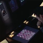 Una fase della partita Poole-HAL 9000 in '2001: Odissea nello spazio' (1968)