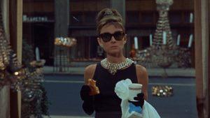 """Audrey Hepburn in """"Colazione da Tiffany"""" (1961)"""
