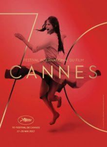 La locandina ufficiale di Cannes 2017, che ritrae l'attrice italiana Claudia Cardinale