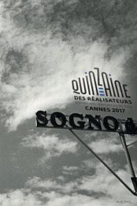 La locandina ufficiale della sezione Quinzaine des rèalisateurs: si scorge un altro piccolo omaggio all'Italia