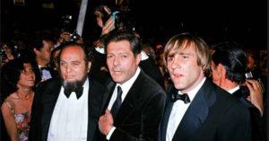 Ferrari, Marcello Mastroianni e Gérard Dépardieu a Cannes, nel 1978