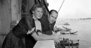 Ingrid Bergman e Rossellini a Stromboli (1950)