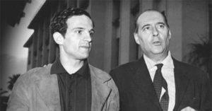 François Truffaut e Roberto Rossellini