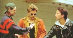 "Van Sant sul set di ""Belli e dannati"" con River Phoenix e Keanu Reeves"