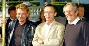 Con Johnny Hallyday e Leconte, a Venezia