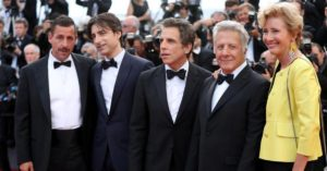 Parte del cast di The Meyerowitz Stories a Cannes 2017