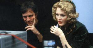 Todd Haynes e Julianne Moore sul set di 'Lontano dal Paradiso'