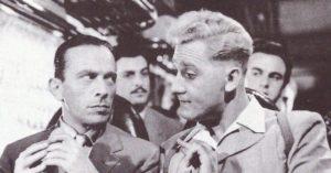 """Uno dei primi personaggi di Sordi: il compagnuccio della parrocchietta nel film """"Mamma mia che impressione!"""""""