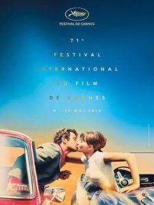 La locandina ufficiale di Cannes 2018