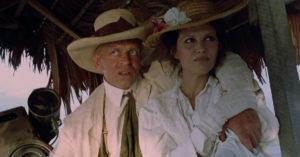Klaus Kinski e la Cardinale, in Fitzcarraldo di Werner Herzog