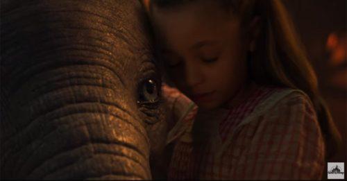 """""""Dumbo"""": il trailer del remake di Tim Burton"""